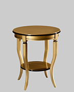 neoclassical sofa table black golden