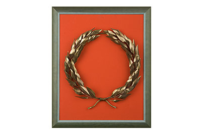 bronze olive wreath
