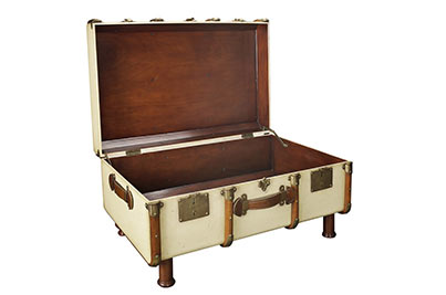 stateroom trunk ivory