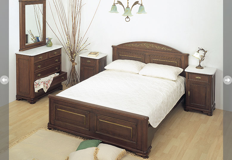 "neoclassical bedroom set ""Athina"""