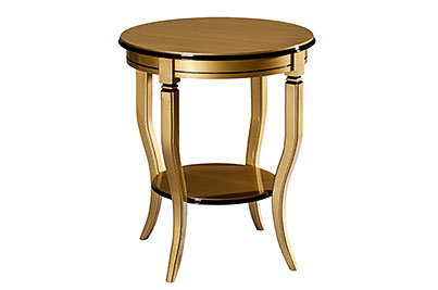 Occasional Table Gold Black