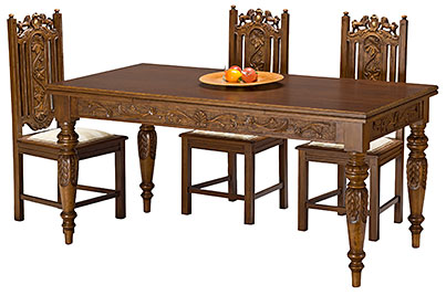 traditional Dining table tornos